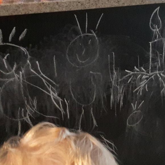 Die Zwillinge haben gemalt