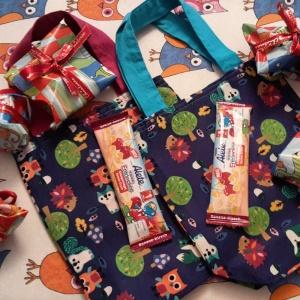 Taschen vom Nikolaus