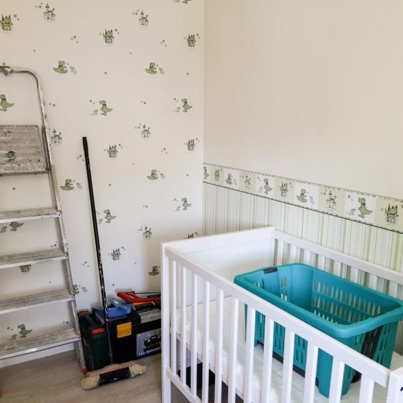 Babyzimmer-Baustelle