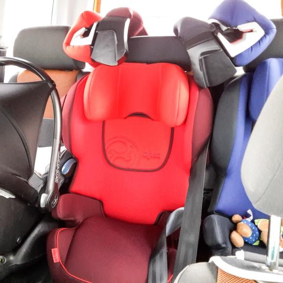 Cybex Kindersitze im Caddy
