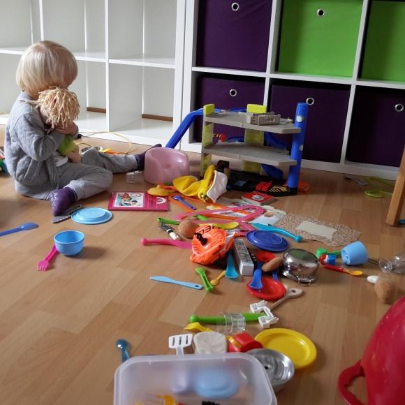 Chaos im Gästezimmer