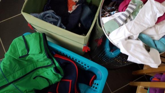 Wäsche und noch mehr Wäsche