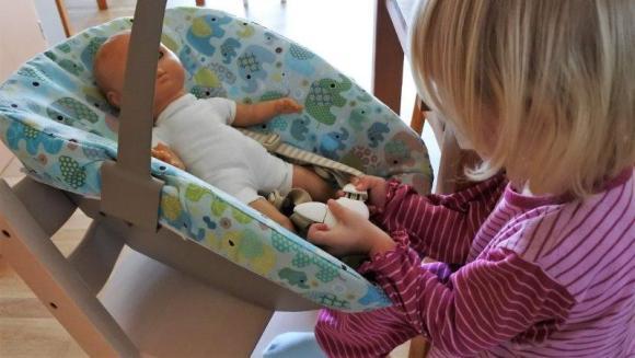 Stokke Trip Trap mit Newborn Set