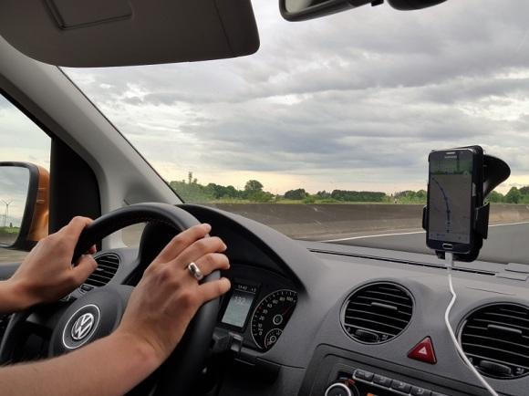 lange Autofahrt