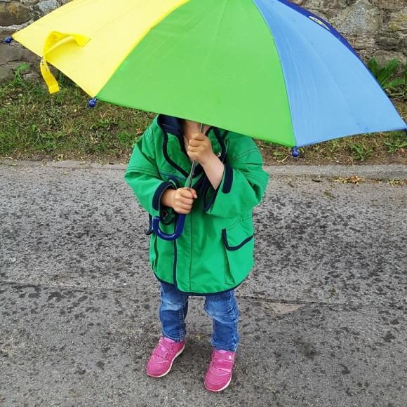 Prinzessin im Regen