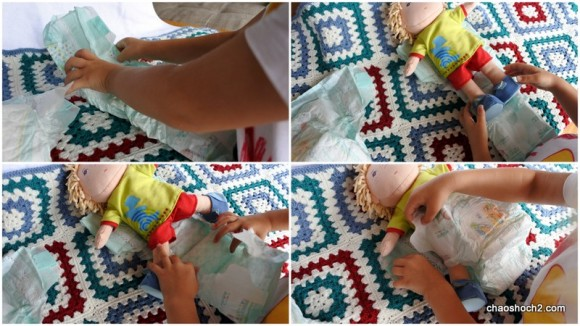 Pampers Baby-Dry Collage 2